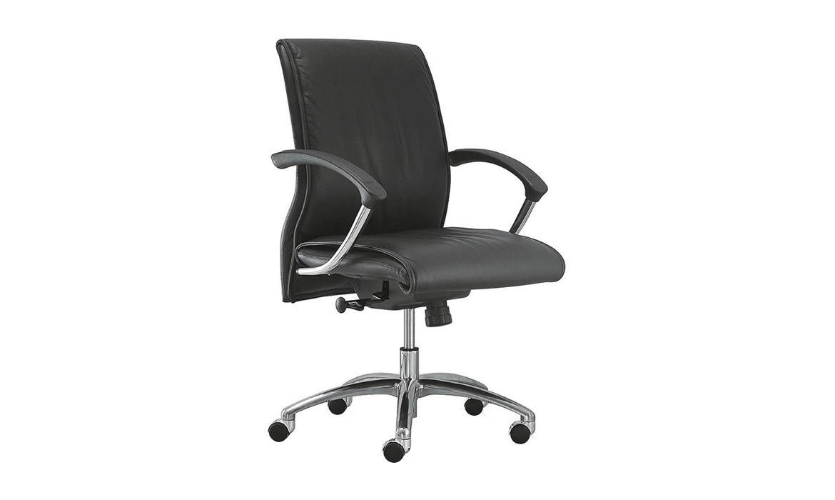 Büromöbel Leder Manager Metal Swivel Executive Chair (Vika)