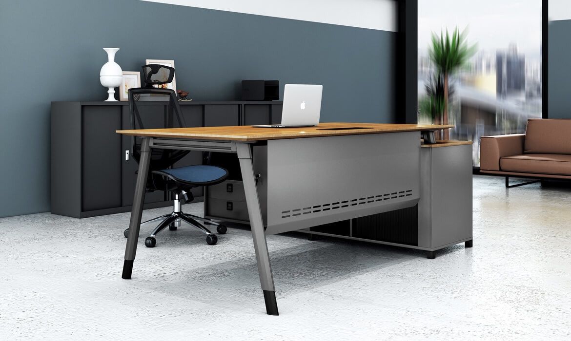 Einzigartiges Design Hölzerner Office Manager Executive Computer Tisch (HC-101A)