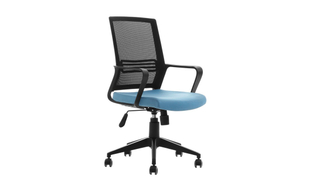 Graue ergonomische Office Mesh Chair Lenkräder (Abner)